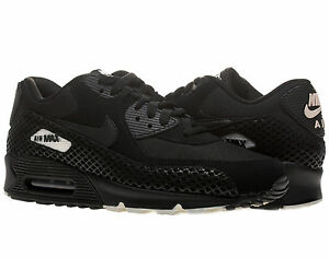 wholesale dealer 02c3a 6b1db Nike Air Max 90 Premium Tree Snake Pack Black Light Bone Mens Running Shoes    eBay