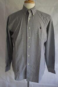 RALPH-LAUREN-Men-039-s-Long-Sleeve-Classic-Fit-Button-Down-Dress-Shirt-Size-M