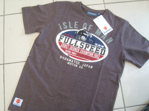 Genuine Suzuki Isle of Man T Shirt S M L XL XXL