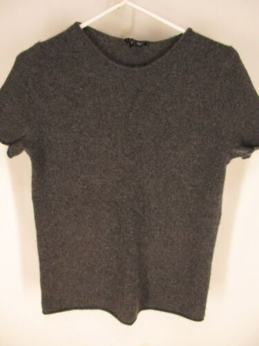 Theory Womens Charcoal Cashmere Sweater S
