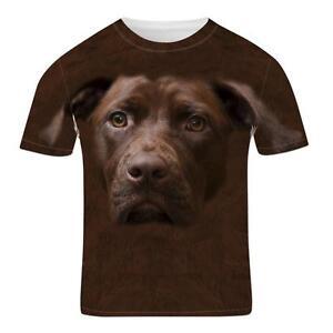 Chocolate-Labrador-Retriever-Face-Cute-Guide-Dog-Animal-3D-Effect-Mens-T-Shirt