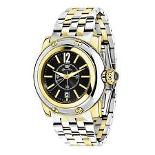 GLAM ROCK WOMEN'S SUMMER TIME 40MM GOLD PLATED CASE SWISS QUARTZ WATCH GR40054