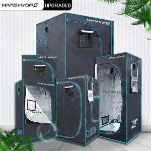 Image is loading New-Design-Mars-Hydro-Portable-Grow-Tent-Silver- & New Design Mars Hydro Portable Grow Tent Silver Mylar Hydroponic ...