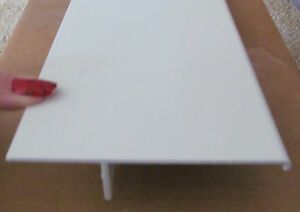 96 White Aluminum Smooth T Molding Slide Out Trim Rv Trailer 4 1 2 X 1 1 16 Ebay