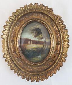 13x14 Cm Petit Cadre Ovale Pour Photographie Peinture Miniature En Gratuit R203 Cool En éTé Et Chaud En Hiver