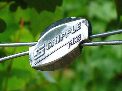 20 Gripple Plus Medium Wire Joiners Gripple 2.00-3.25mm Easily Join Fencing