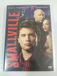 SMALLVILLE-SEXTA-TEMPORADA-6-COMPLETA-6-X-DVD-EXTRAS-CASTELLANO-ENGLISH-AM