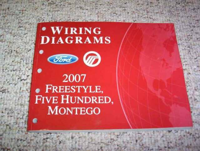 2007 Ford Freestyle Electrical Wiring Diagram Manual SEL ...