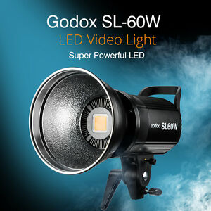 Godox-SL60W-5600K-Studio-LED-Video-Continuous-Light-Remote-Control-Reflector