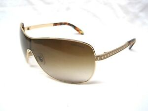 f020f4ba0eb TIFFANY   CO. Gold Shield Sunglasses TF3035 - 60023B AUTHENTIC - NEW ...
