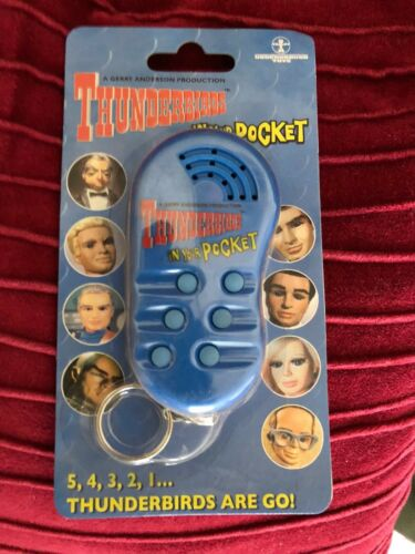 Thunderbirds In your Pocket Sound Effects Key Chain