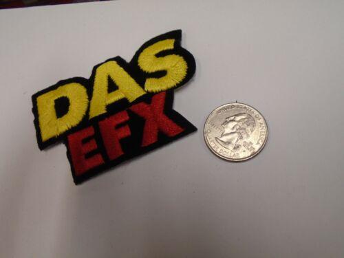 Das Efx Fuzzy EPMD Hip Hop East Coast EMBROIDERED PATCH NEW