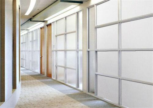 Grau Milchglas Glitzerfolie Sichtschutz Bad 500cm x 120cm selbstklebend