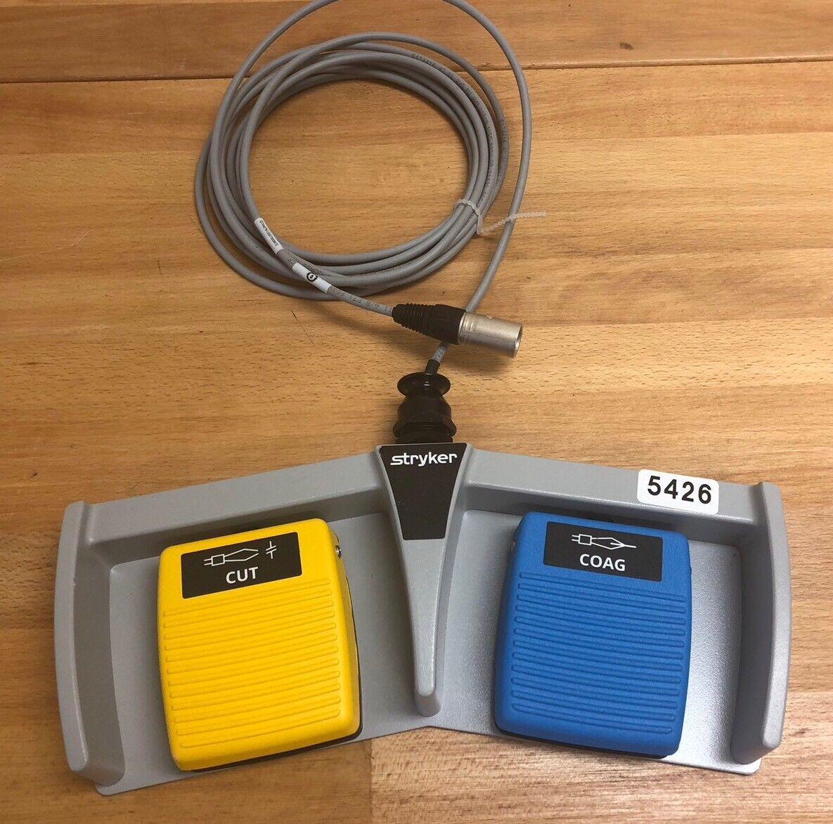 Nuevo generador de doble bipolar Stryker 6700-313-002 Corte/COAG doble de pedal de pie 5426 bd7996