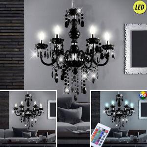 Led-Lustre-Intensite-Variable-Ess-Plafond-de-Salle-Lampe-pendant-Lustre-RGB