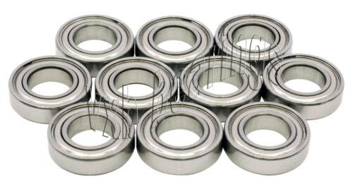 "10 Shielded R12ZZ 3//4/""x 1 5//8/""x 7//16/"" inch R12Z Deep Groove Radial Ball Bearings"
