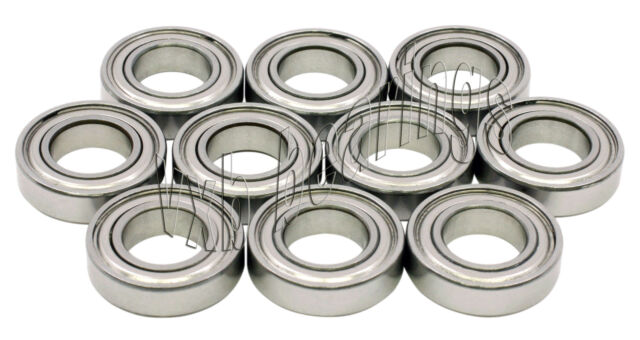 10 Bearing 16001-2RZ 12x28x7 Shielded VXB Ball Bearings