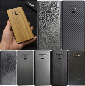 Back-Cover-Skin-Sticker-for-SAMSUNG-GALAXY-NOTE-9-8-S8-S9-Plus-Leather-Carbon