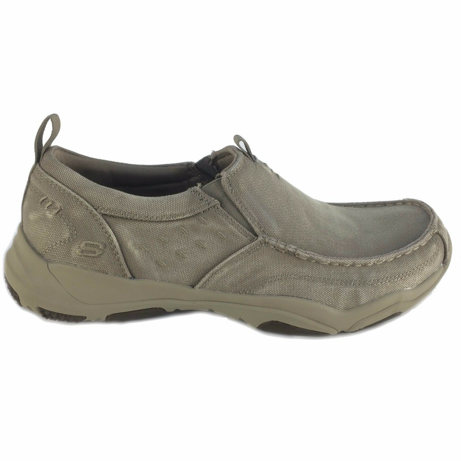 Skechers, 64970 TPE taupe, USA Homme Larson Berto Slip-On Mocassins
