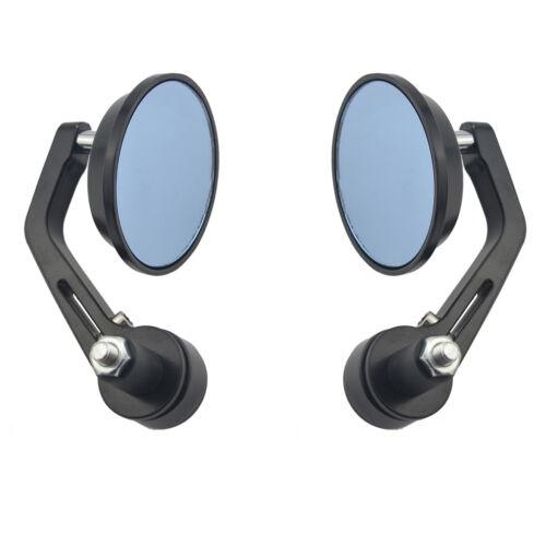 "7//8/"" Bar End Mirrors 3/"" For Triumph Scrambler Avenger Blazer Trident 750 900"