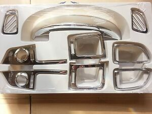 Details about Chrome Interior Molding 9p for Hyundai Grand Starex H1 iMAX  i800 2007~2015 K-305