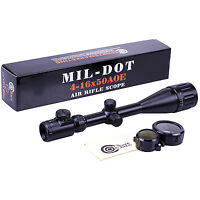 Smk 4-16x50 Ao Px Ao Illuminated Zoom Mil Dot Reticle Riflescope Hunting Scope