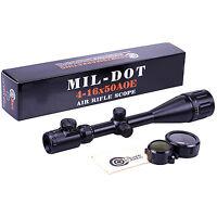Smk 4-16x50 Ao Px Ao Illuminated Zoom Mil Dot Reticle Riflescope Hunting Scope