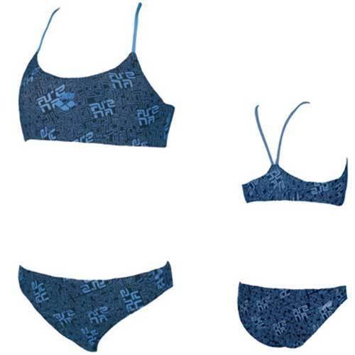 training Größe 128 blueberry UVP 32,95 Arena Kinder Bikini Lucania jr