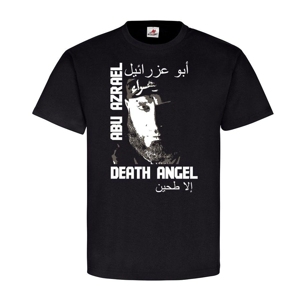 Abu Azrael Irak Krieger Kämpfer Imam-Ali-Brigade Held Fan T Shirt