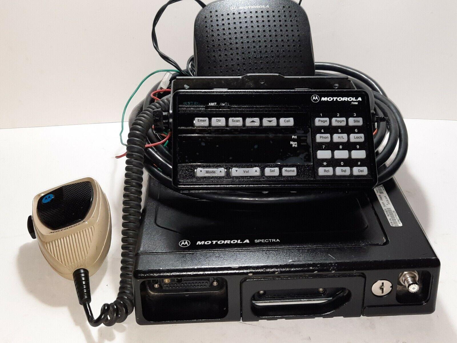 Motorola ASTRO SPECTRA PLUS XTL5000 RADIO VHF 146-174MHz 110 WATT 512CH P25 ADP. Buy it now for 550.00