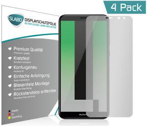 Slabo-Displayschutzfolie-fuer-Huawei-Mate-10-Lite-4er-Set-MATT-034-No-Reflexion-034