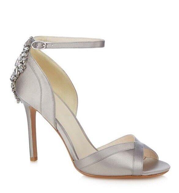 No. 1 Jenny Packham Silver 'Picnic' Embellished Stilettos Stilettos Stilettos - UK 6 - BNIB ba1cdd