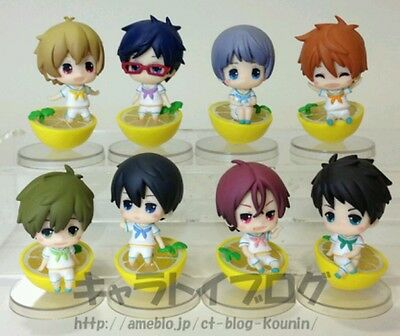 Free! eternal summer Iwatobi swim club & Samezuka set Taito figure Marine Lemon