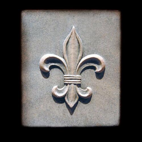 Fleur de Lys plaque Decorative Plaque Sculpture