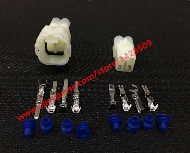 1//5//10//20 Sets MT 2.2mm Sumitomo 3 Pin Sealed Motorcycle Connector 6187-3231 618