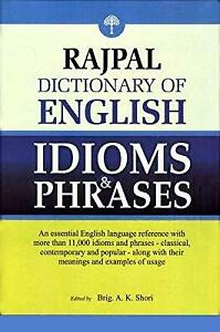 Rajpal-Dictionary-of-English-Idioms-amp-Phrases-AK-Shori-Used-Like-New-Book