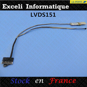 Cable-Nappe-Lcd-video-vv-Ecran-HP-PAVILION-G7-2000-682743-001-DD0R39LC040-LVDS