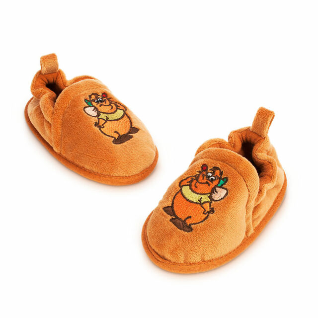Disney Store CINDERELLA GUS MOUSE COSTUME BABY Dress Up SHOES SLIPPERS 0-24M