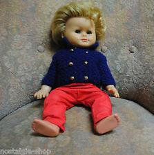 Original 60er Schildkröt Puppe Bärbel Vintage Spielzeug