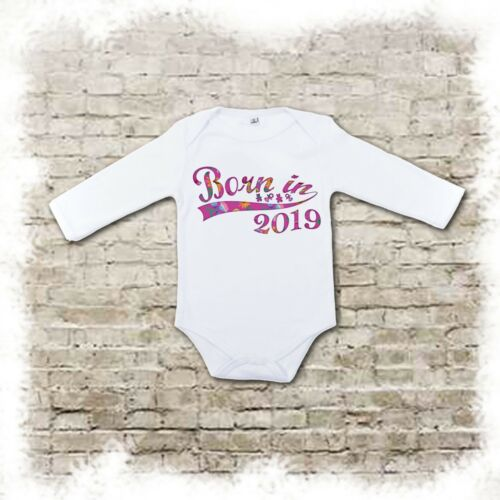 baby bodysuits Various designs. Born in 2019 bibs /& muslins available