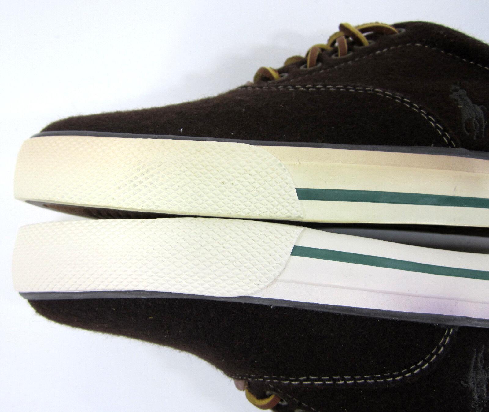 Polo ralph lauren e taglia vaughn atletico di scarpe taglia e le scarpe marroni 8,5 504c5a