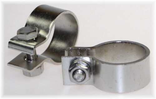 "1x BayWorld V2A Edelstahl 42,5mm DIN Schelle Breitbandklemme 1.65/"" Industrie TOP"