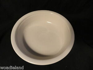 White-Post-86-Fiesta-Nappy-Bowl-6-3-4-inches-Homer-Laughlin