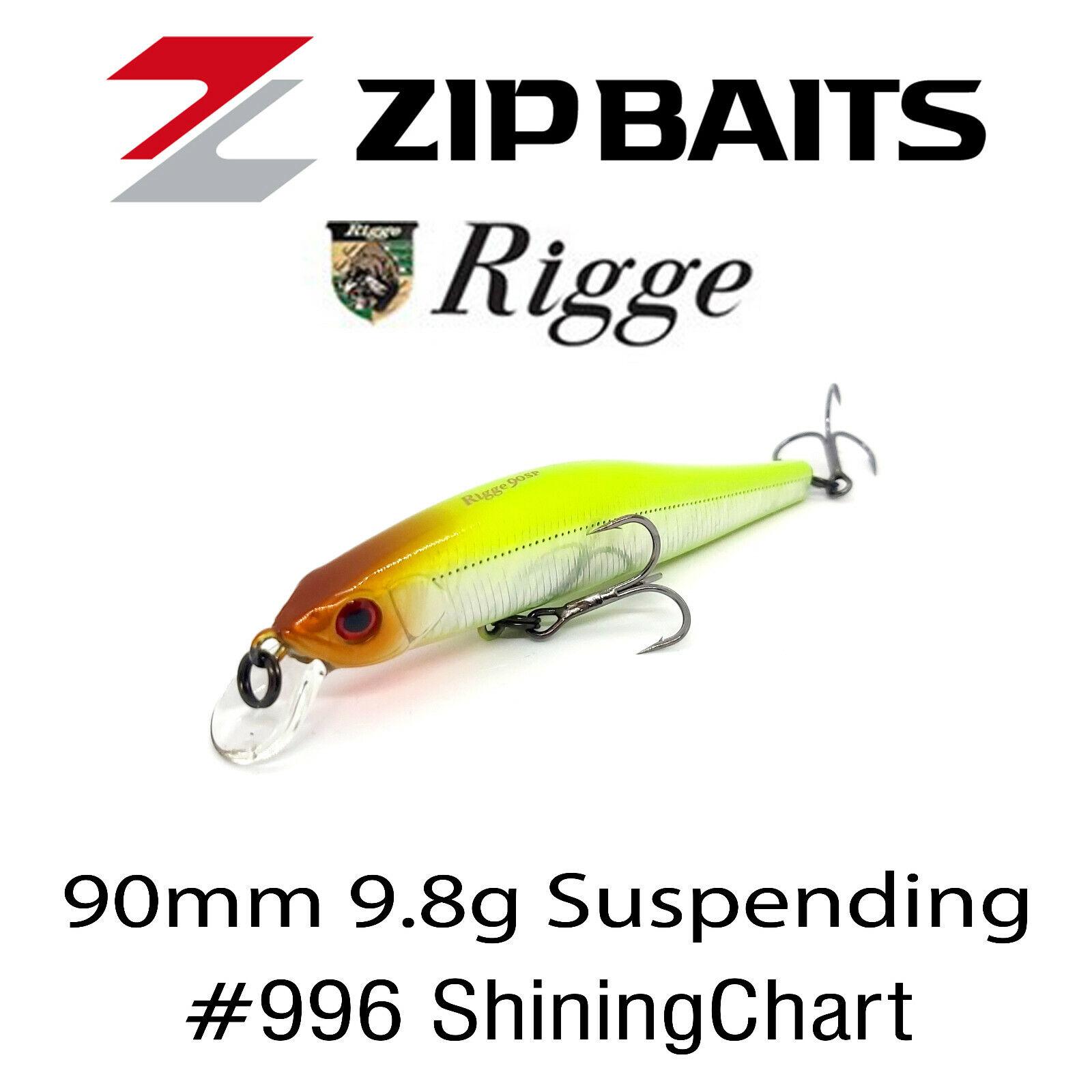 Zipbaits Rigge 90 SP SR Suspendieren Köder 510R 8186