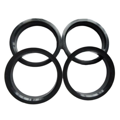 SET OF 4 HUB CENTRIC RINGS SPIGOT RINGS 68.1 to 66.6 mm wheel spacers MADE IN EU