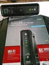 Arris SurfBoard Modem Wi-Fi Router SBG6580 Cable Modem N300 Internet