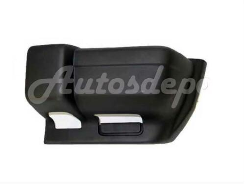For 1997-2001 Jeep Cherokee Front Bumper End Cap Textured Black Lh