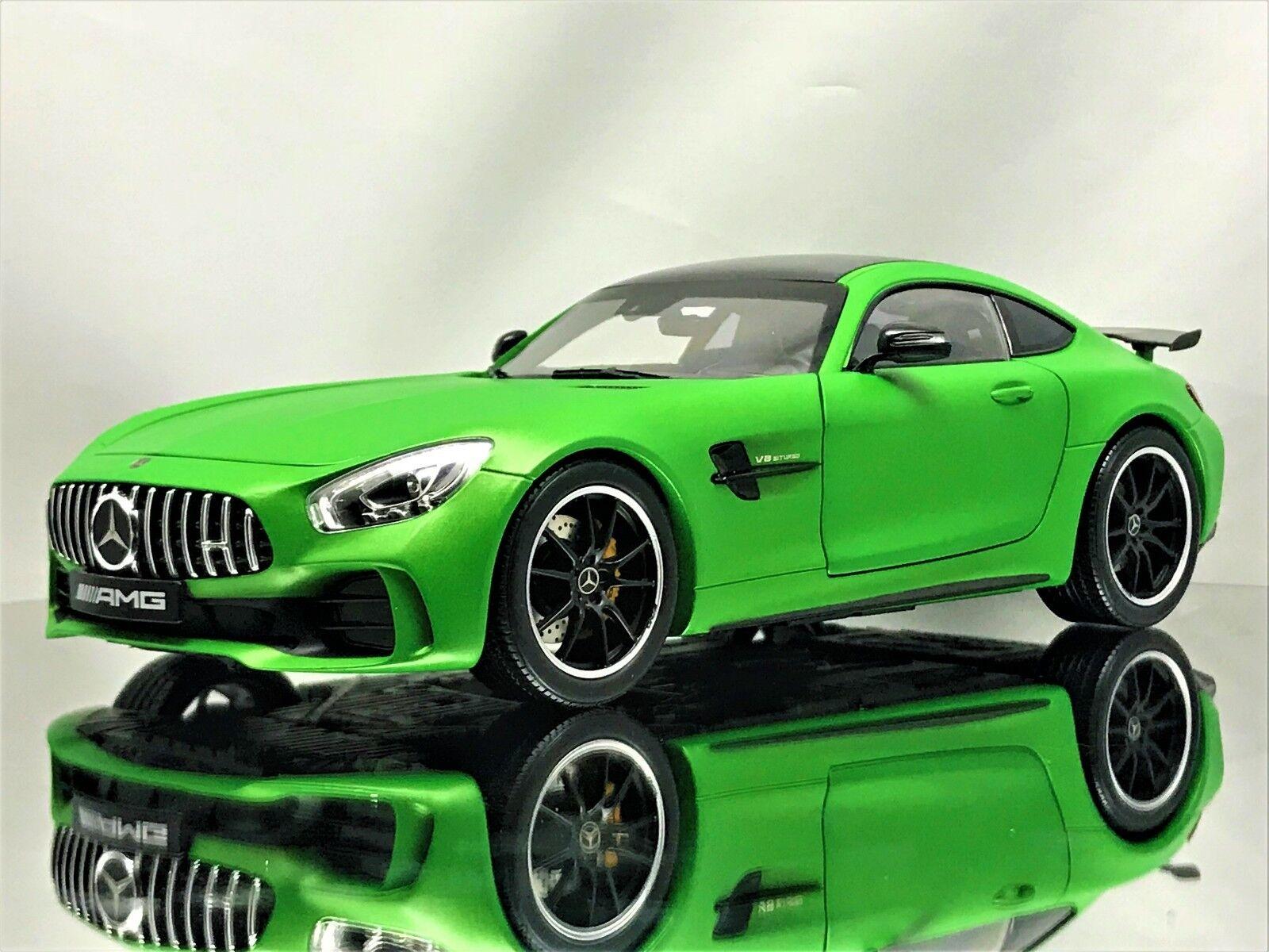 Norev Mercedes Benz AMG GT-R (C190) Coupé GTR Vert Hell Magno Voiture Modèle 1 18