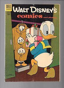 Walt-Disney-039-s-Comics-amp-Stories-171-Carl-Barks-Donald-Dell-Golden-Age-Dec-1954
