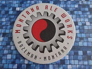 Bière Breweriana dessous de Verre - Montana Ale Fonctionne Brewing Co~ Bozeman- hrsvDKsK-09094420-253689797